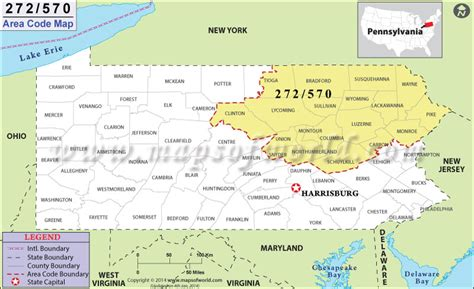us area code pa 570 area code map where is 570 area code in pennsylvania