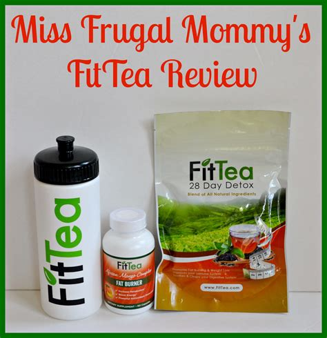Is Fit Detox Tea Legit by Fittea Review Giveaway Fitteadetox Miss Frugal