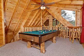 branch brook pool tables elk ridge alpine 593 luxury cottage in pigeon