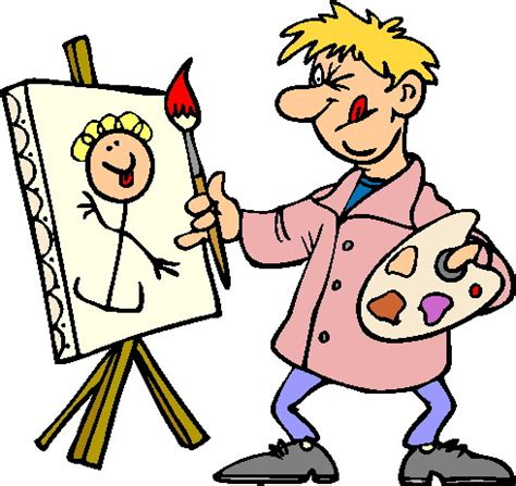 artist clipart clip painter cliparts co