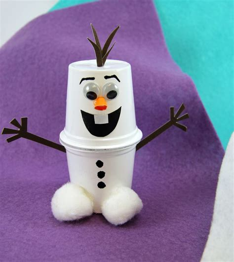 8 Winter Crafts For by 25 Best Ideas About Cup Crafts On Paper Cup