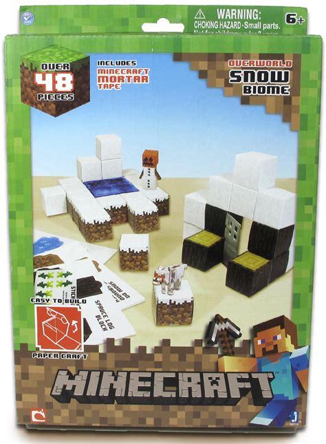 Minecraft Papercraft Snow Biome - upc 681326167129 minecraft papercraft snow biome