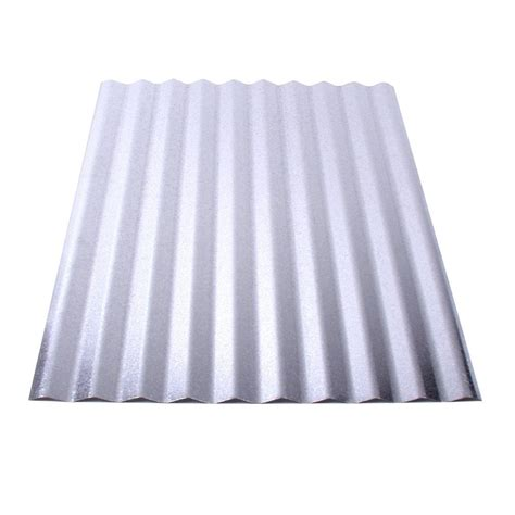 fabral 6 ft corrugated galvanized steel roof panel