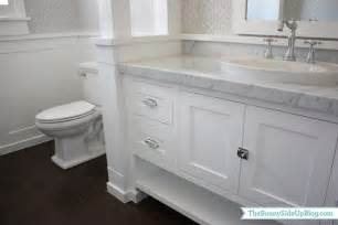 Marble Countertop For Bathroom by Carrara Marble Countertop Transitional Bathroom