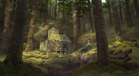 temple of the black light books house in the forest by melora on deviantart