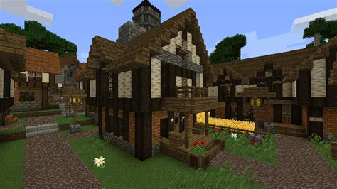 minecraft village house design minecraft medieval village house designs home photo style