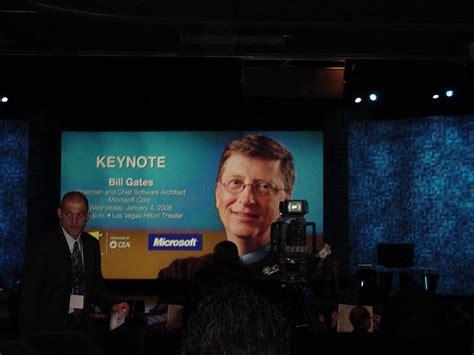 Bill Gates Ces Keynote by Activewin Ces 2006 Bill Gates Keynote Photos