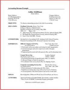 chronological resume for canada - Canadian Format Resume