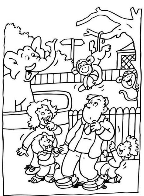 coloring page zoo free coloring pages of zoo