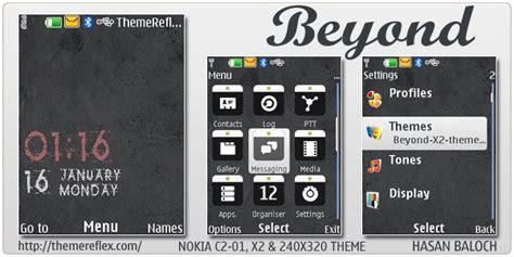 nokia x2 nice themes beyond theme for nokia x2 c2 01 240 215 320 themereflex