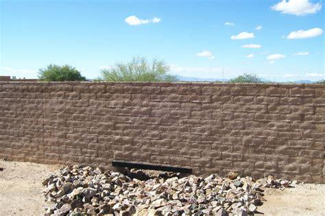 Mission Style Homes Slump Block Gallery Old Pueblo Masonry In Tucson