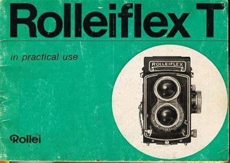 rolleiflex t instruction manual, user manual, pdf manual
