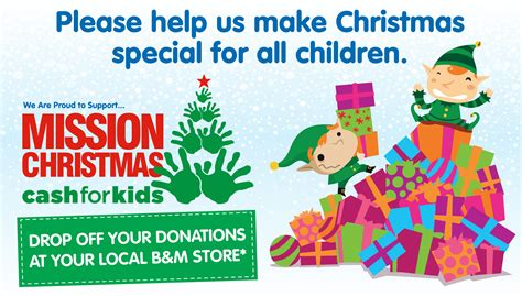 bm christmas b m lifestyle for mission appeal 2017 find your nearest b m drop