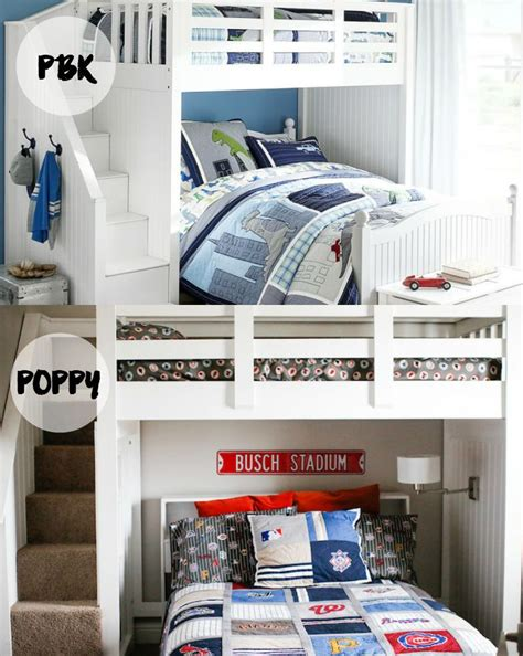 bunk beds pottery barn diy pottery barn bunk beds