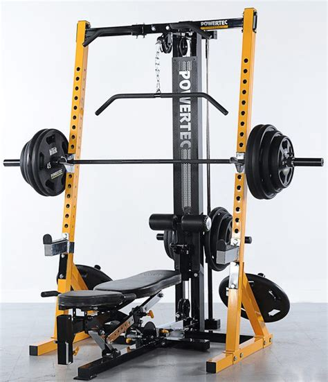 half rack powertec wb hr16