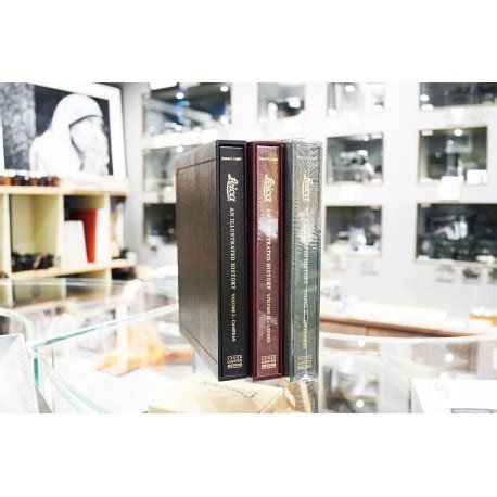 leica history leica an illustrated history volume 1 volume 3 meteor