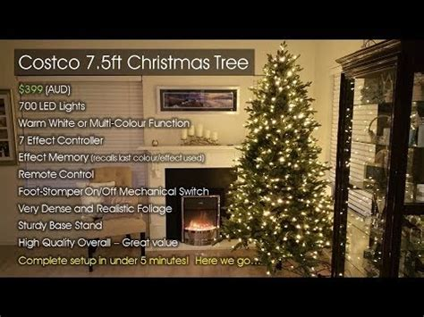 costco christmas tree australia 2017 short review youtube