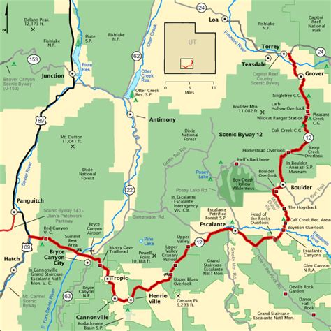 americas byways americas scenic byways autos post