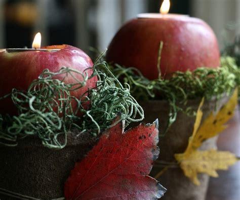 Apfel Deko Zum Basteln by Deko Mit Naturmaterialien Mit 196 Pfeln Basteln