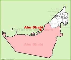 Abu Dhabi World Map by Abu Dhabi Location On The Uae United Arab Emirates Map