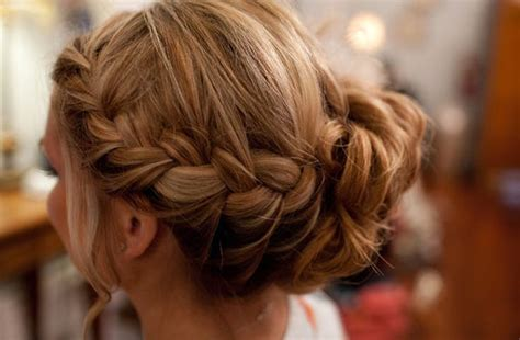 Braided Wedding Hairstyle Bridal Updo by Braided Wedding Hairstyle Bridal Updo