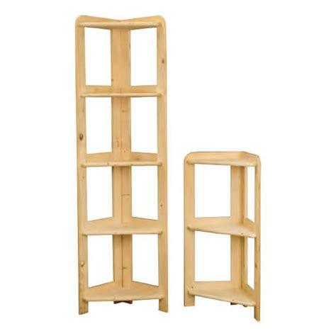 libreria angolare legno libreria angolare con 3 o 5 ripiani