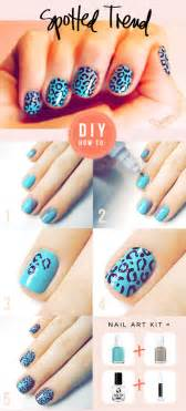 how to do nail art spots step by step diy instructions