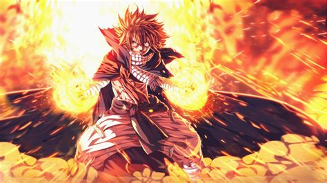 wallpaper anime fairy tail dragneel natsu mythology
