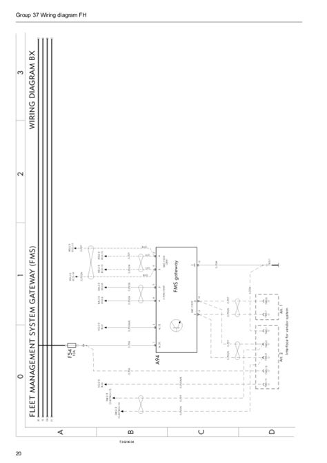 volvo fh12 version 2 wiring diagram wiring diagram with