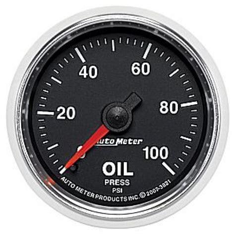 1994 1999 chevy truck oil pressure gauge malfunction youtube autometer gs series 0 100psi oil pressure gauge only 71 00