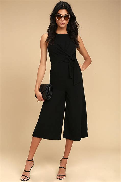 Midi Jumpsuit chic black jumpsuit midi jumpsuit sleeveless jumpsuit 67 00