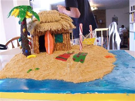 gingerbread beach house tropical gingerbread house celebrate pinterest