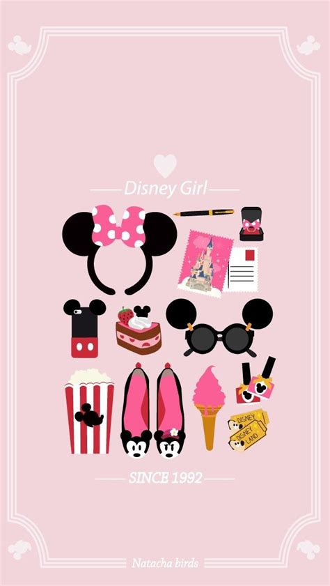 iphone themes disney disney girl minnie pink wallpaper iphone wallpapers