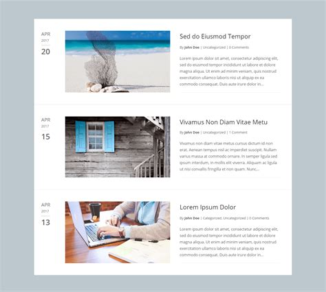 layout of a blog post divi blog extras divi blog layout plugin for creating