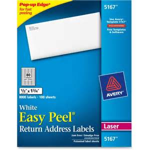avery 5167 label template avery 5167 easy peel mailing laser labels permanent