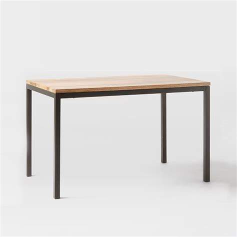 Box Frame Dining Table Wood West Elm West Elm Framed Desk
