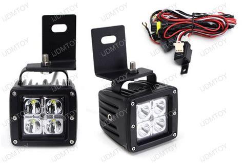 ford f 250 led fog lights 40w led fog lights for 08 10 ford f 250 f 350 f 450 super duty