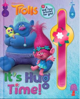 dreamworks trolls poppy lends a hugs book books studio international recalls slap bracelets sold with