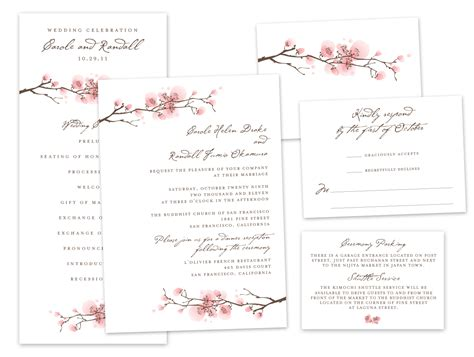 Wedding Enclosure Cards Free Template by Wedding Invitations