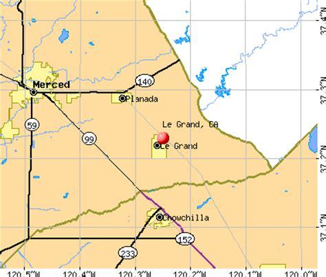 california map grand le grand california ca 95333 profile population maps