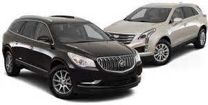 Cadillac Vs Buick Let S Compare 2017 Buick Enclave Vs 2017 Cadillac