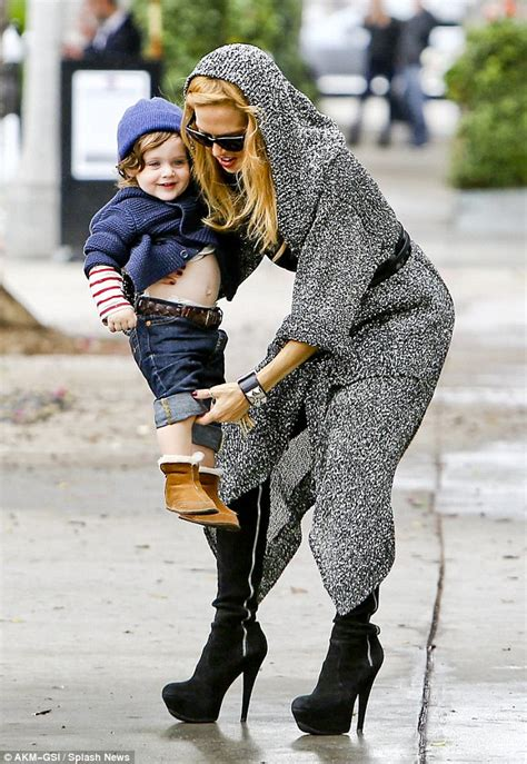 Stylist Zoe On Boots by Stylist Zoe And Baby Skyler Hit The Shops In