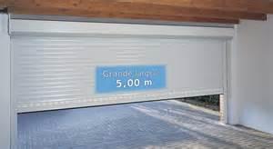 installation thermique porte de garage enroulable