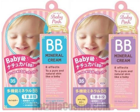 Baby Pink Bb Japanese Bb Baby Pink Bb Mineral Spf35 Pa