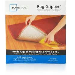 How To Use Rug Gripper by Mainstays Lock Lift Rug Gripper 10 Quot X 20 Quot Creme Walmart