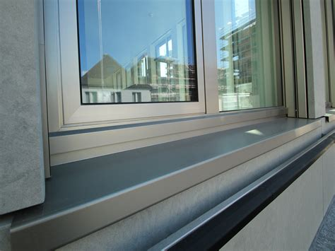fensterbank blech aluminium fensterbank individuell hergestellt in der schweiz