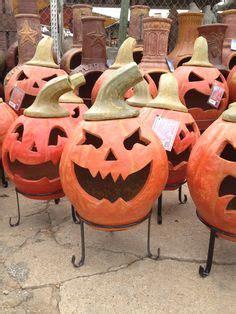 Clay Pumpkin Chiminea Amigos Pottery O Lanterns On