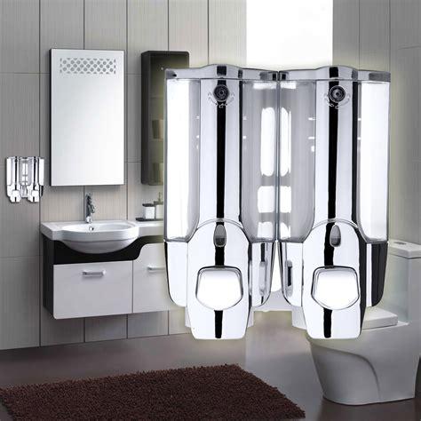 buy bathroom shower aliexpress com buy 400ml dual end soap dispenser wall