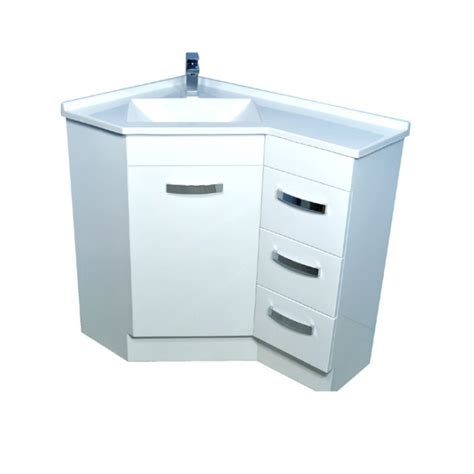 Corner Vanities Bathroom Ideas The Homy Design Corner Bathroom Vanity Cabinet