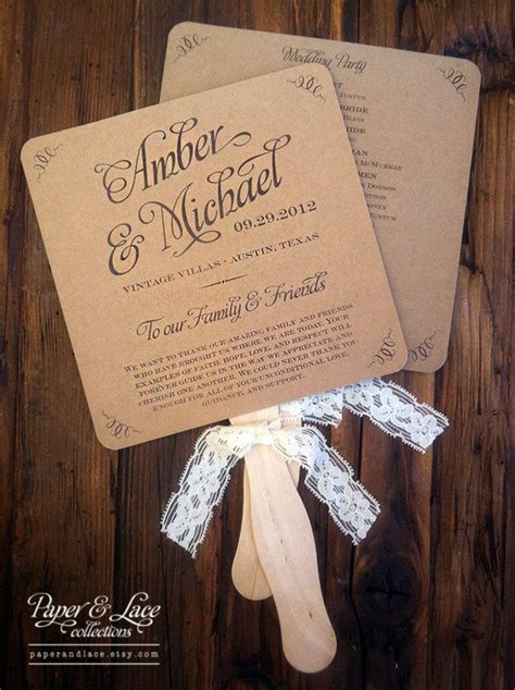 diy wedding program fans fan wedding programs on wedding fans wedding